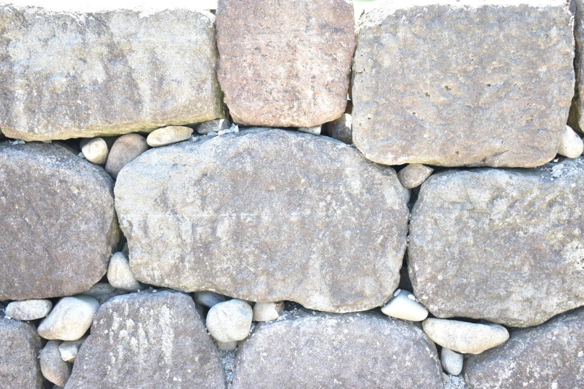 粗加工石積み
