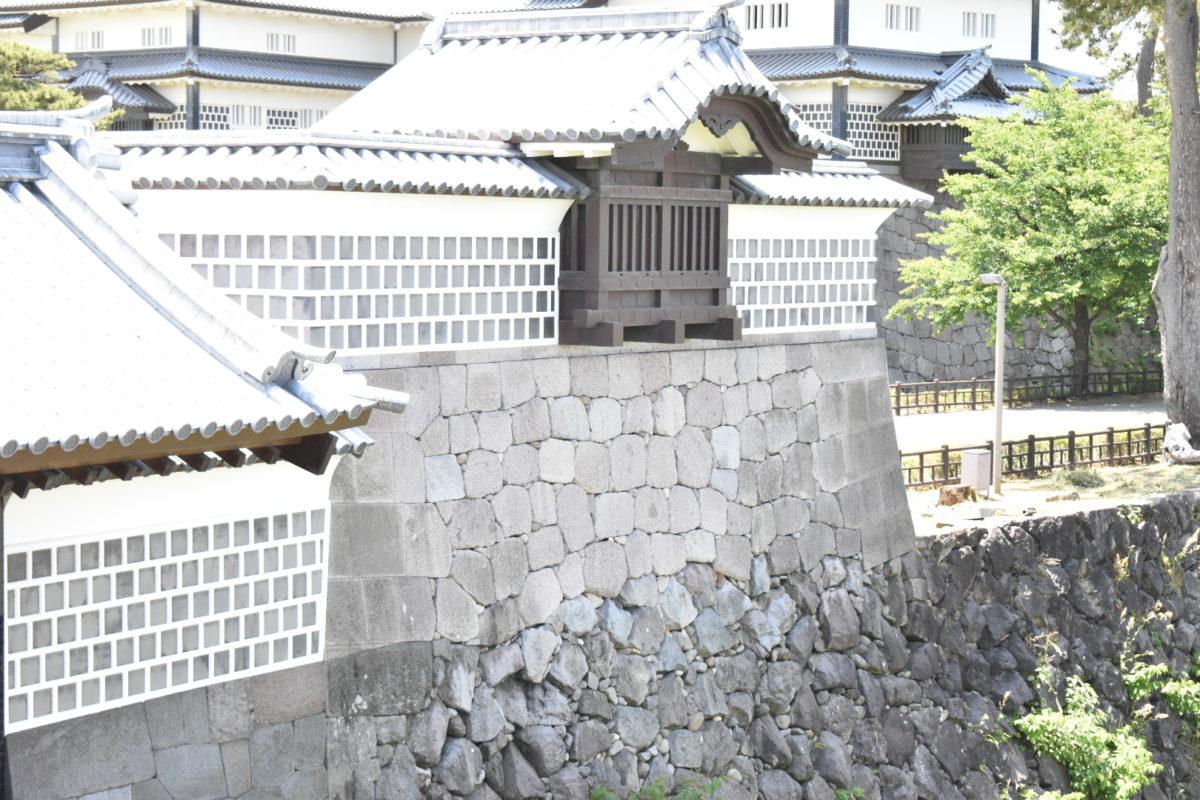 河北門の櫓台