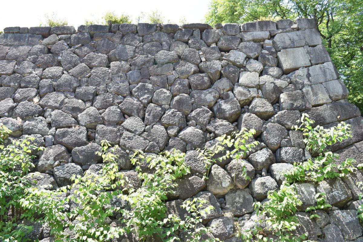 戌亥櫓石垣